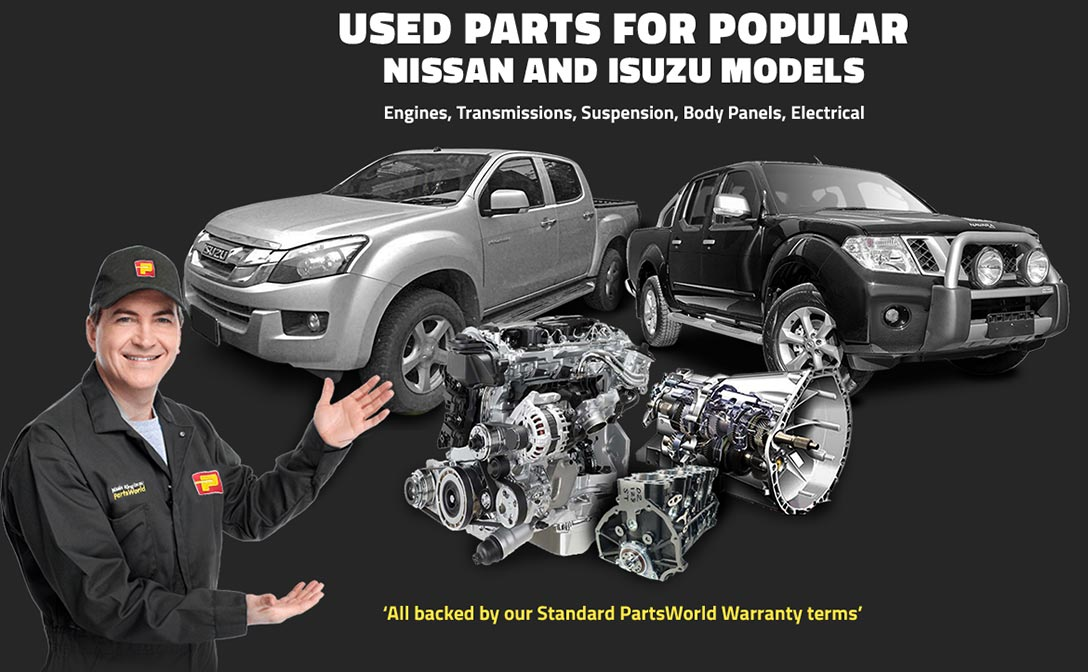 Huge Selection of Used Parts Available at Nissin King Izuzu PartsWorld